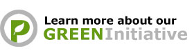 Leare more about our Green Initiative!